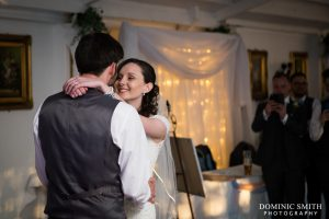 Hazel and Rob during first dance