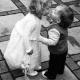 Children wedding guests