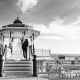 Wedding Photo taken on Brighton Seafront