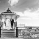 Wedding Photo taken on Brighton Seafront