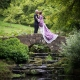 Wedding couple at Wakehurst Place