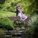 Wedding couple at Wakehurst Place