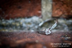 Detail photography of the engagement ring