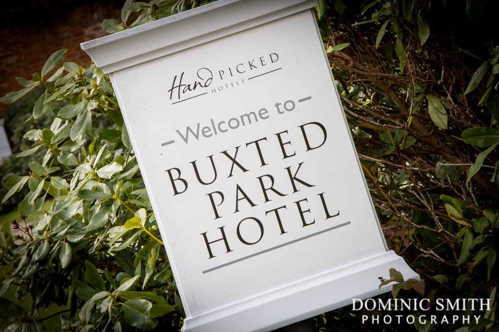 Buxted Park Hotel Sign