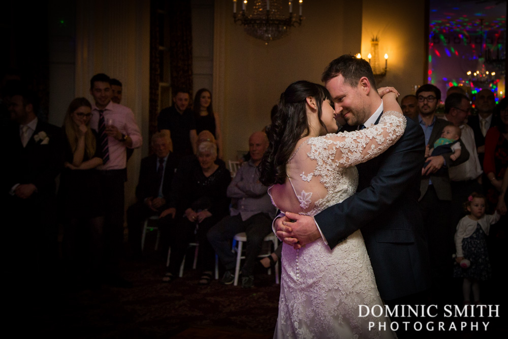 First Dance at Buxted Park Hotel
