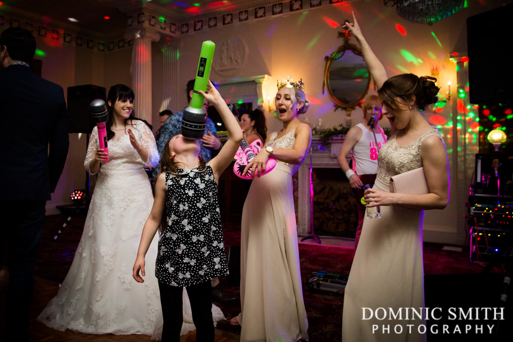 Dancing at Buxted Park Hotel