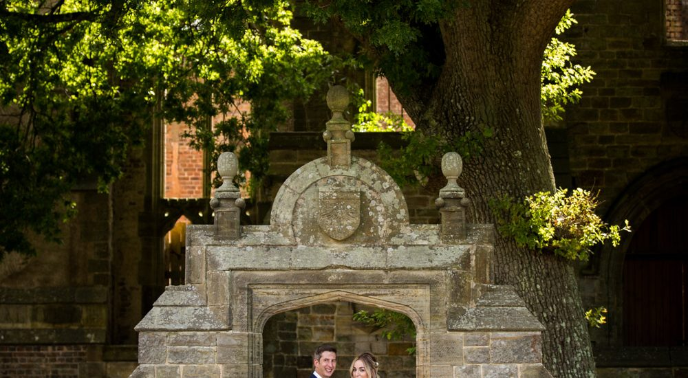 Wedding of Amber and Andy Nymans Gardens 1