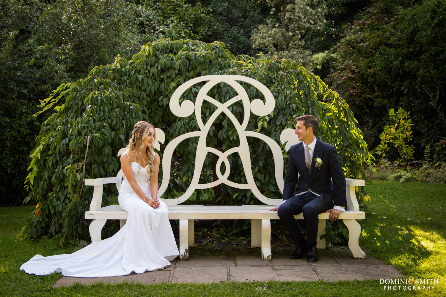 Wedding of Amber and Andy Nymans Gardens 5
