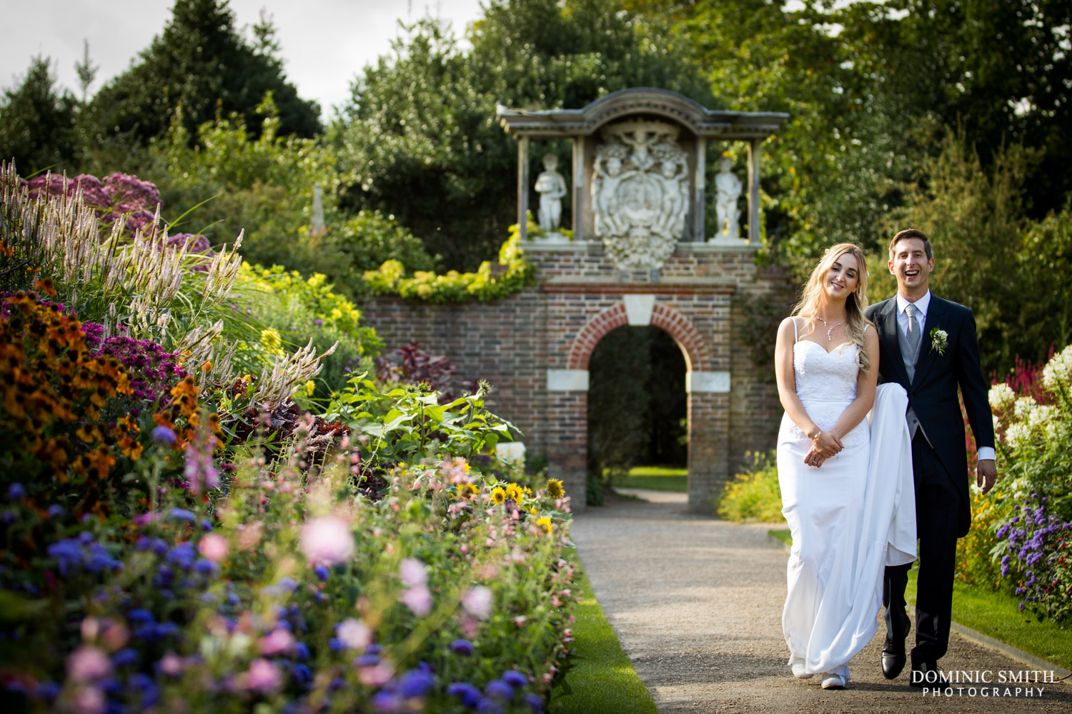 Wedding of Amber and Andy Nymans Gardens 6