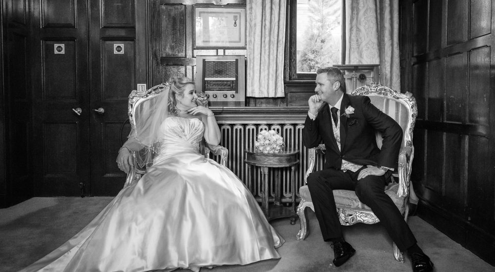 Wedding of Claire and Mark at Highley Manor