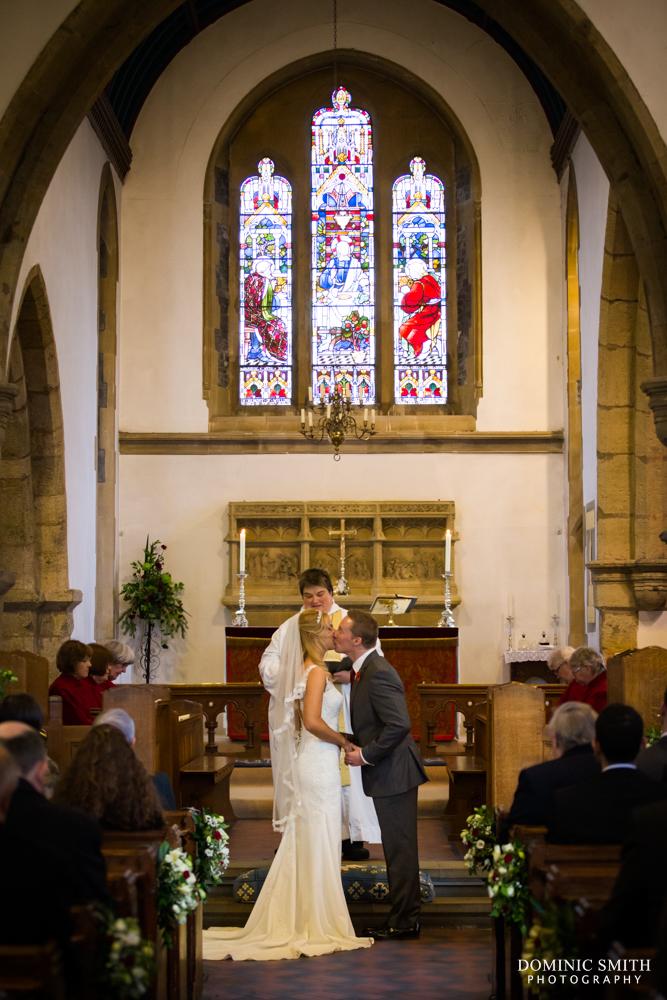 Wedding of Lenia and Tom at St Marys Church 1