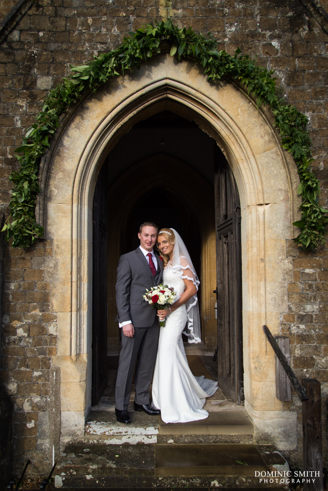 Wedding of Lenia and Tom at St Marys Church 3