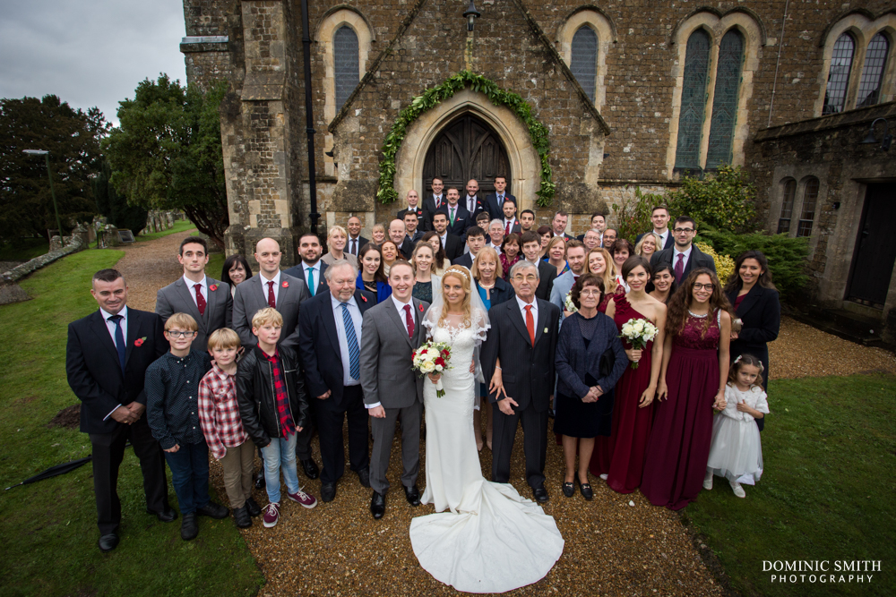 Wedding of Lenia and Tom at St Marys Church 4