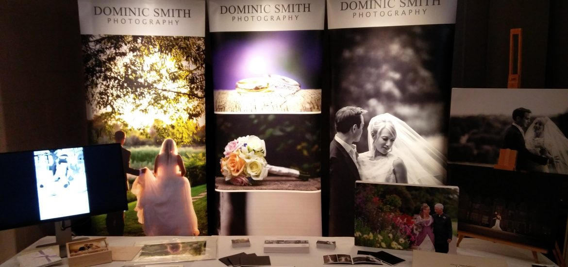 Dominic Smith Photographys Stand at Sussex Wedding Fayre