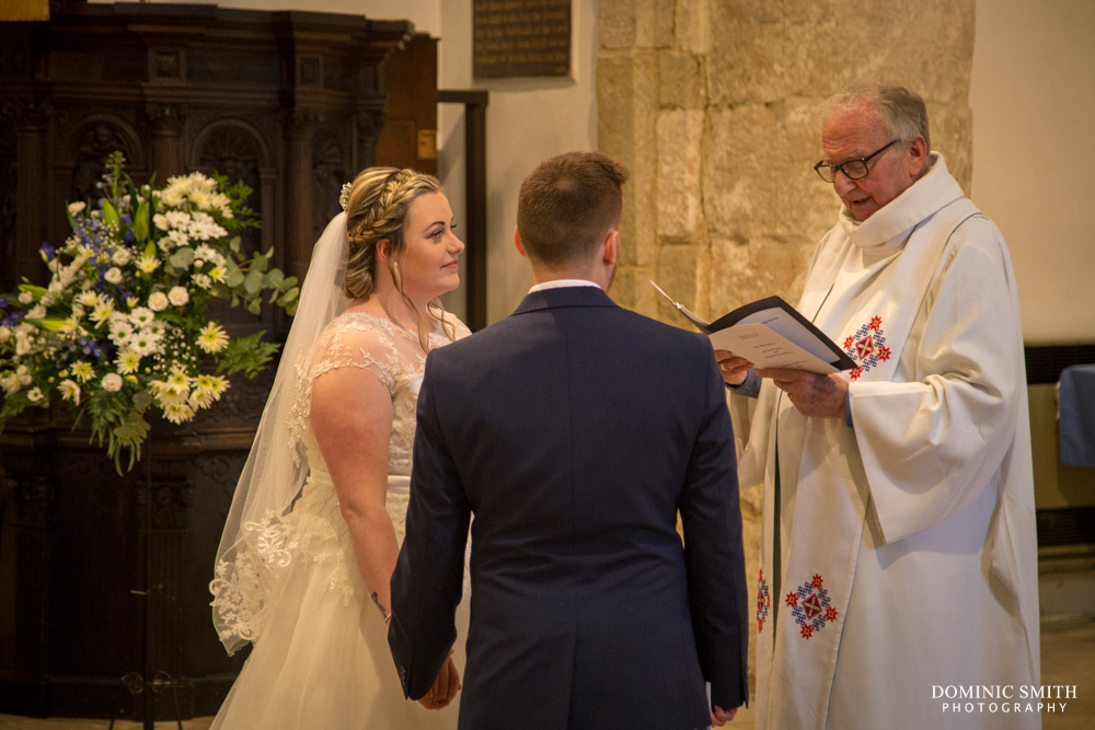 Tegen and Jed at St Nicolas Church - Worth