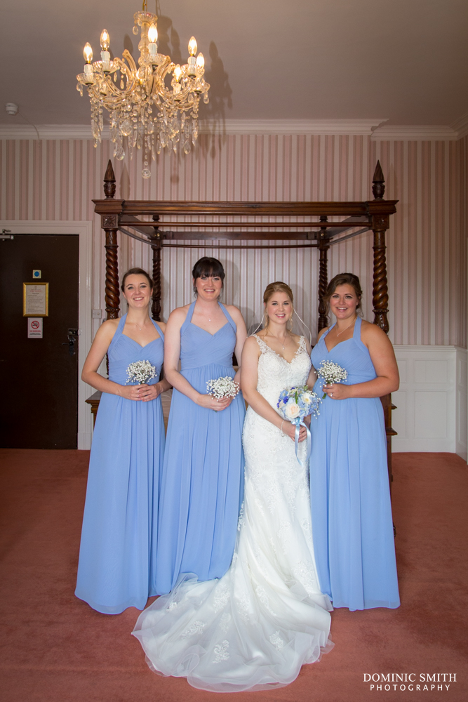 Bridal Prep at Highley Manor