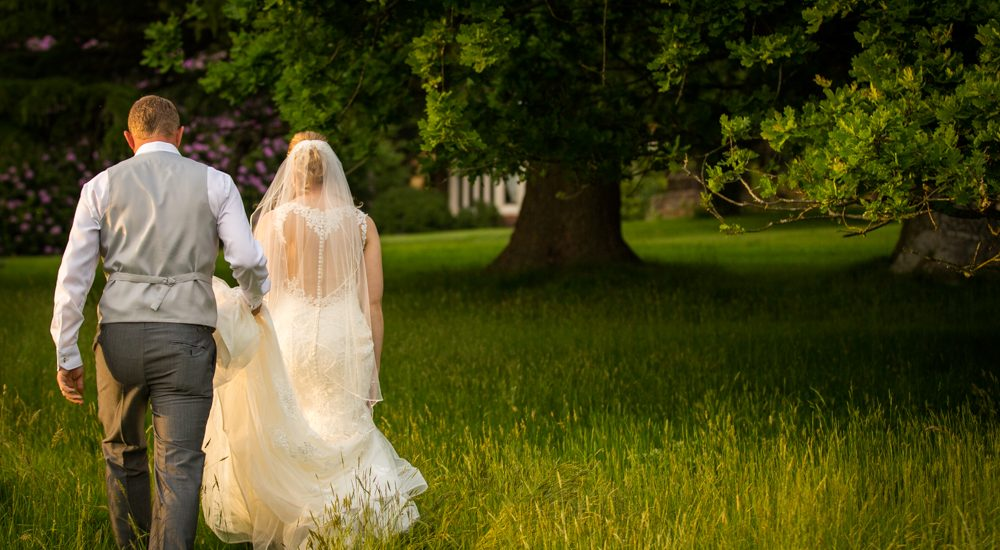 Couple photo at HIghley Manor