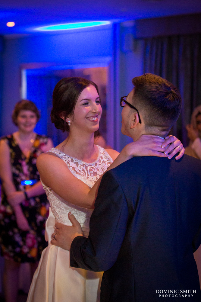 First dance at Goodwood Hotel 1