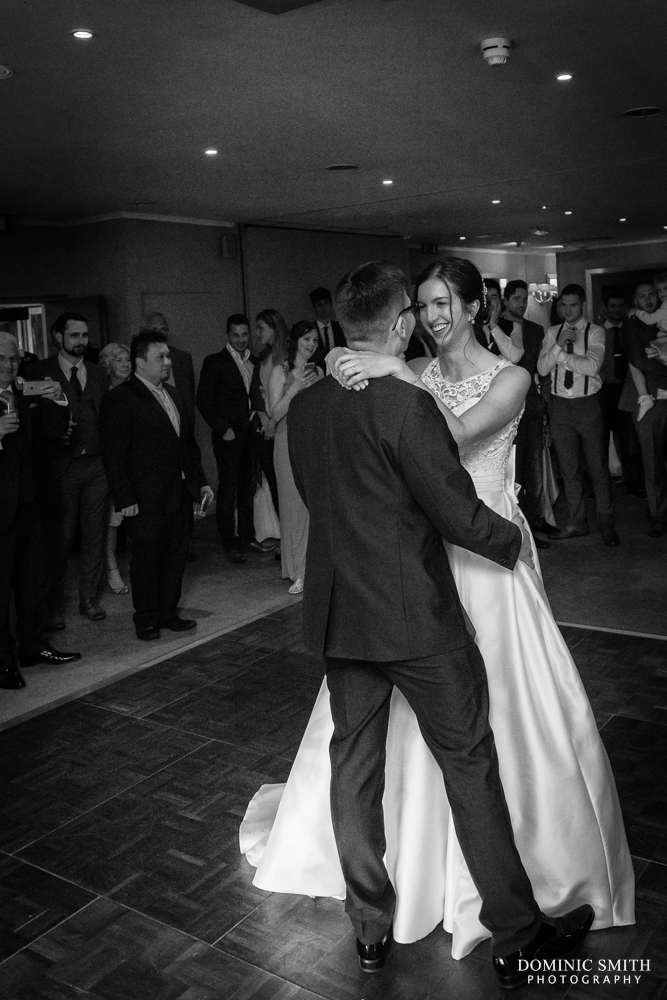 First dance at Goodwood Hotel 2