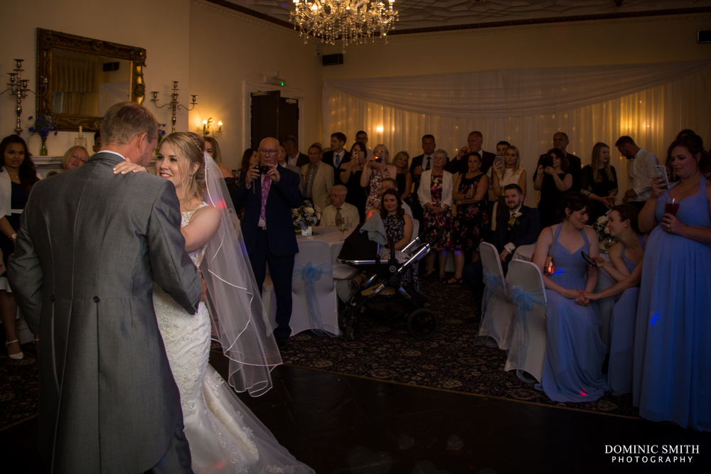 First dance of Claire and Jamie at Highley Manor