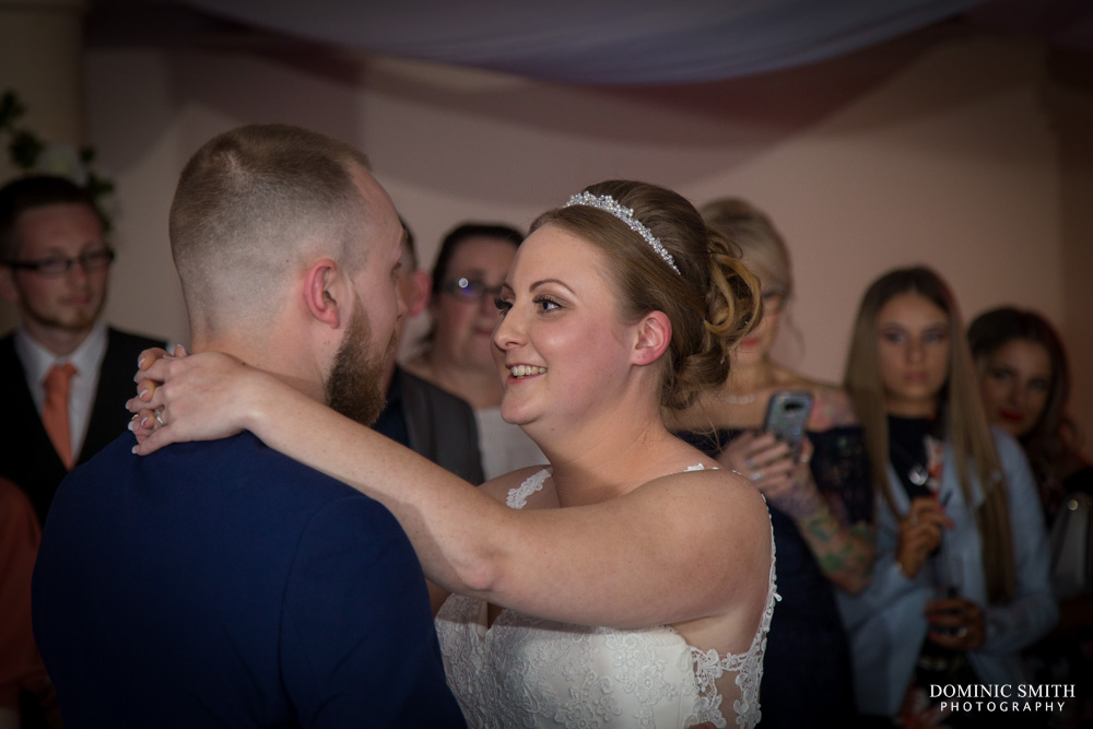 First dance of Grant and Hollie