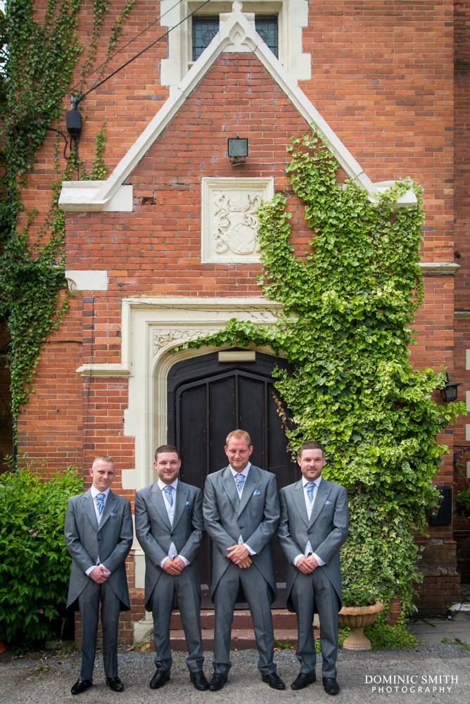 Groomsmen at Highley Manor