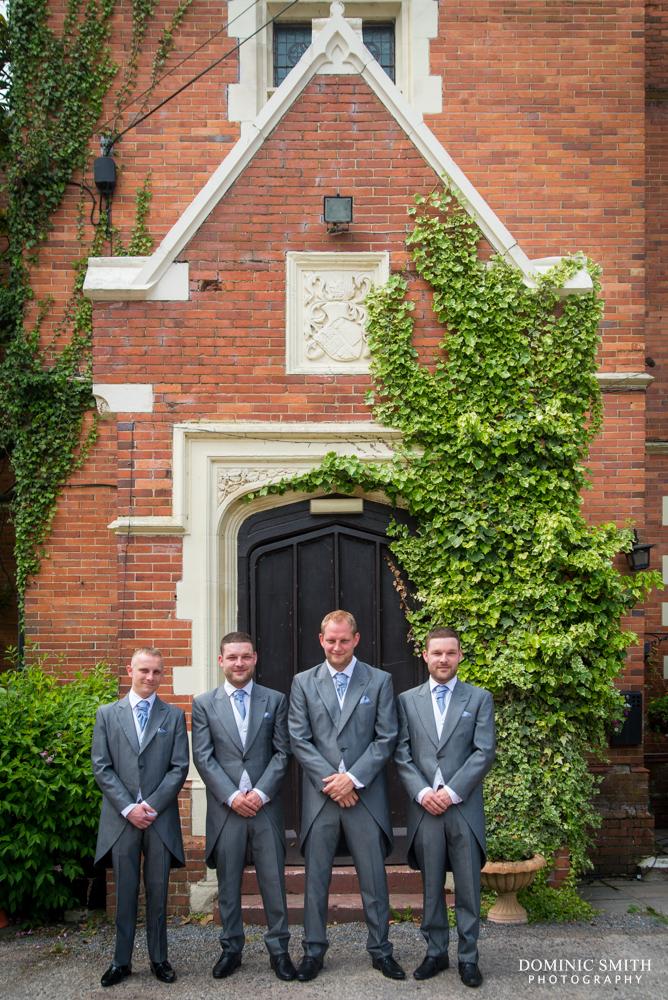 Groomsmen at Highley Manor