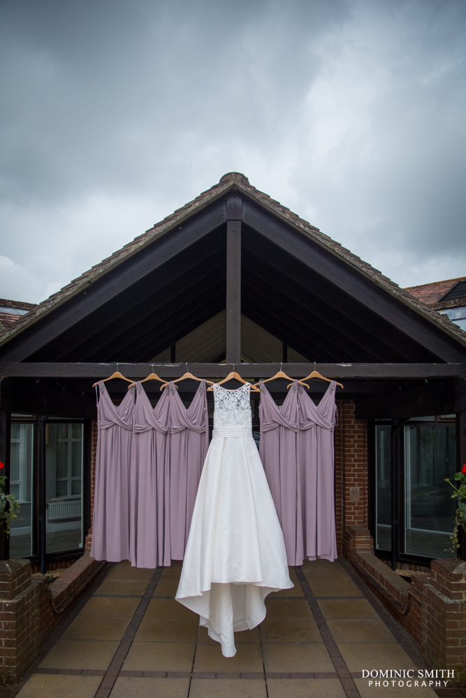 Wedding and Bridesmaids dresses.