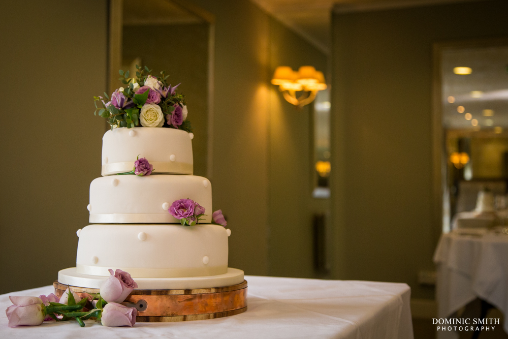 Wedding cake at Goodwood Hotel