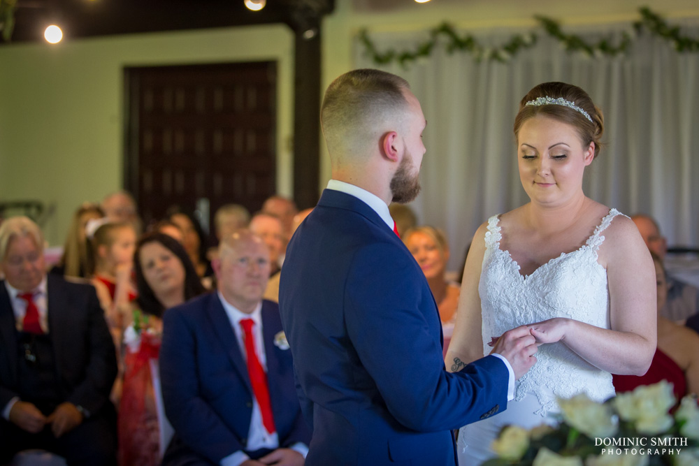 Wedding ceremony of Grant and Hollie 2