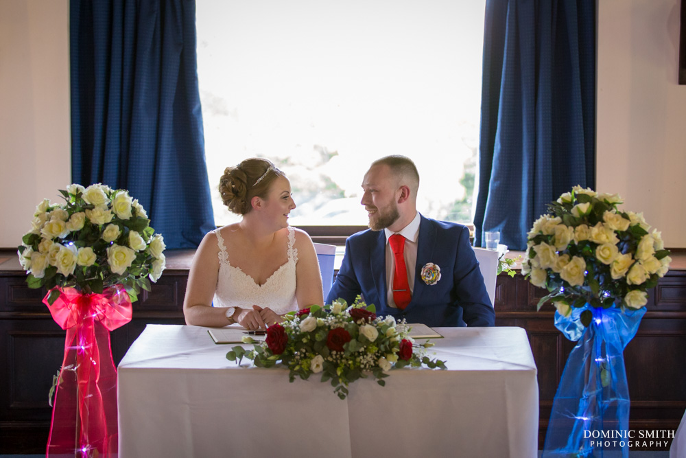 Wedding ceremony of Hollie and Grant