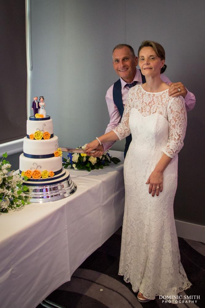 Cake Cutting at Sandman Signature Hotel Gatwick