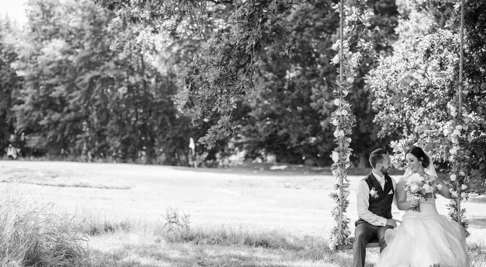 Couple photo taken at Brookfield Barn
