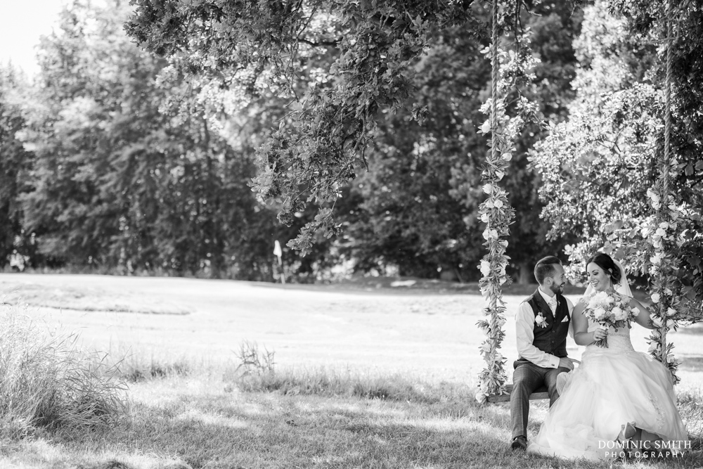 Couple photo taken at Brookfield Barn