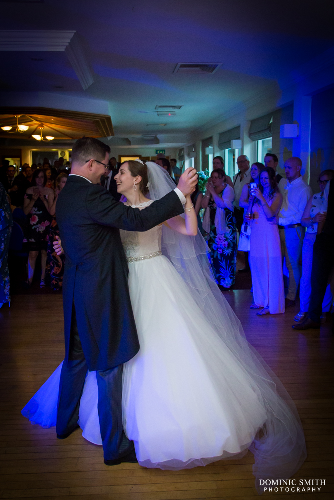 First dance at Cottesmore Hotel Golf and Country Club