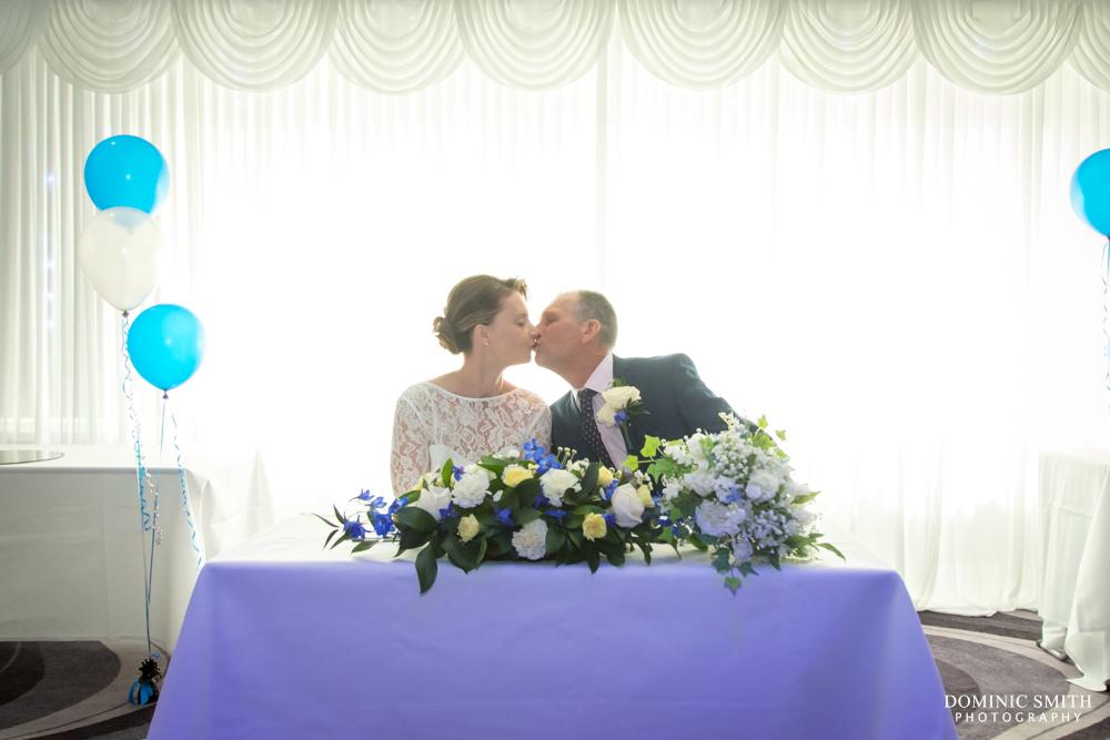 Wedding ceremony at Sandman Signature Hotel Gatwick