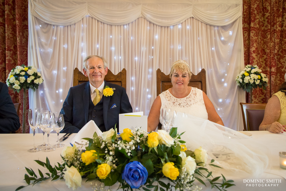 Bride and Groom at South Lodge Hotel