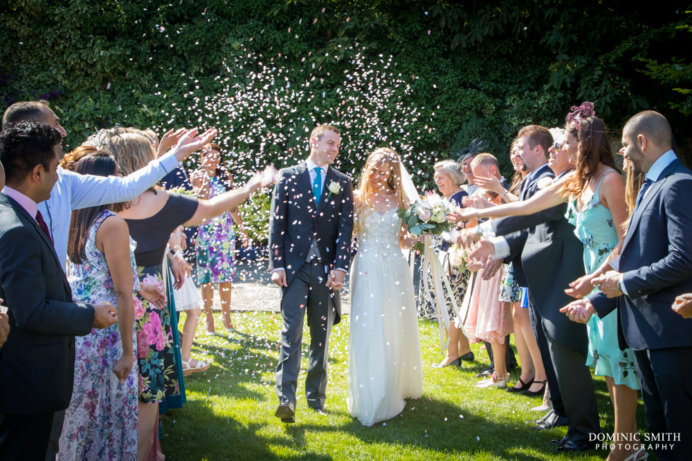 Confetti at Cooling Castle Barn