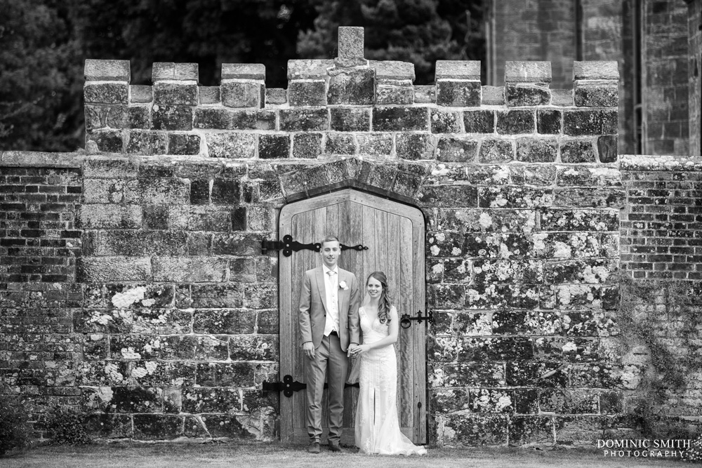 Couple photo at Wadhurst Castle 2