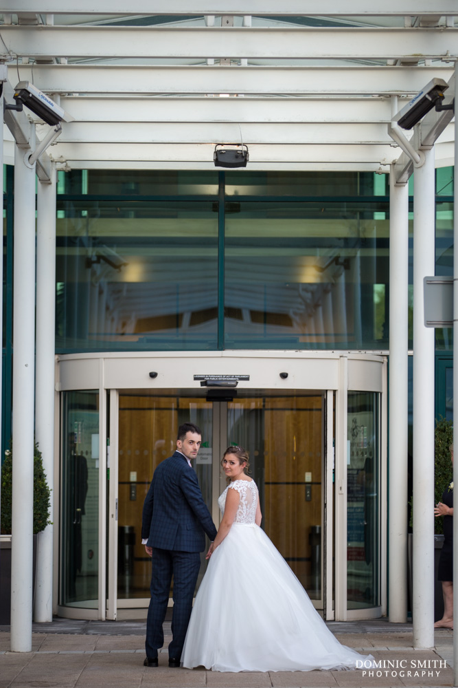 Couple photo at the Arora Hotel Gatwick 2