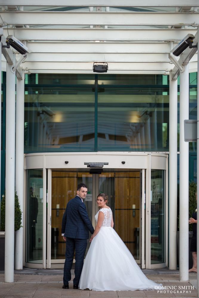 Couple photo at the Arora Hotel Gatwick 2