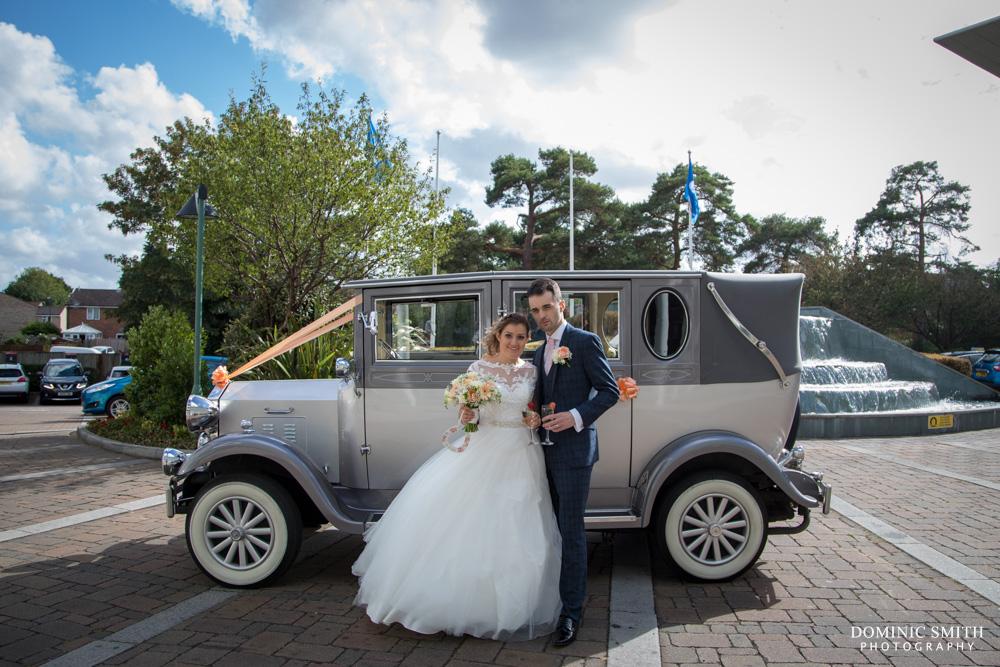 Couple photo at the Arora Hotel Gatwick 3