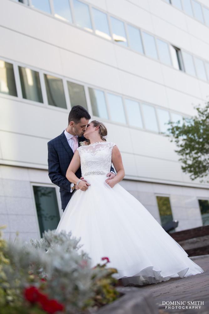 Couple photo at the Arora Hotel Gatwick