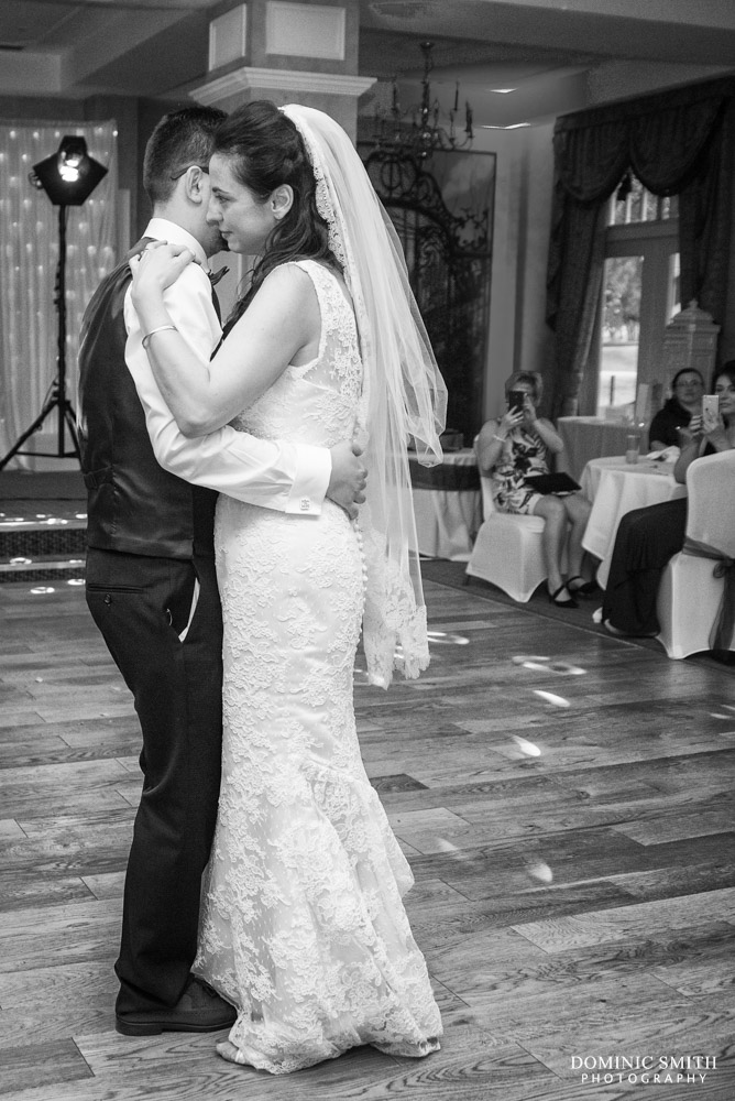 First dance at Coulsdon Manor 1