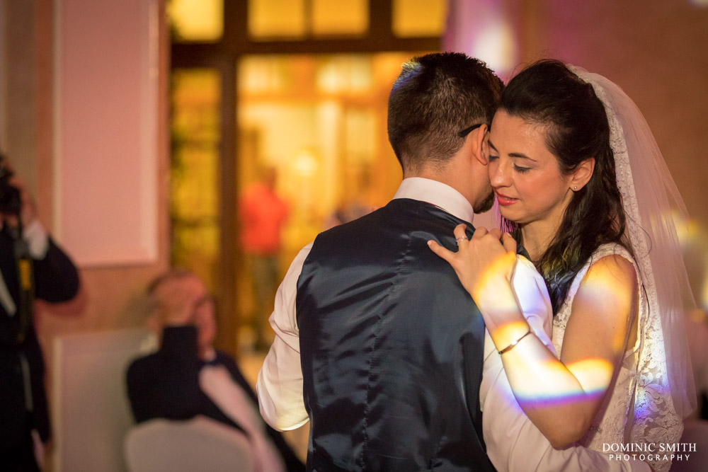 First dance at Coulsdon Manor 2