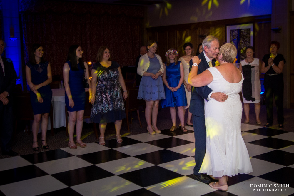 First dance at South Lodge Hotel 2