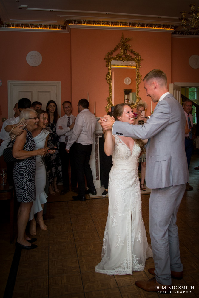 First dance at Wadhurst Castle