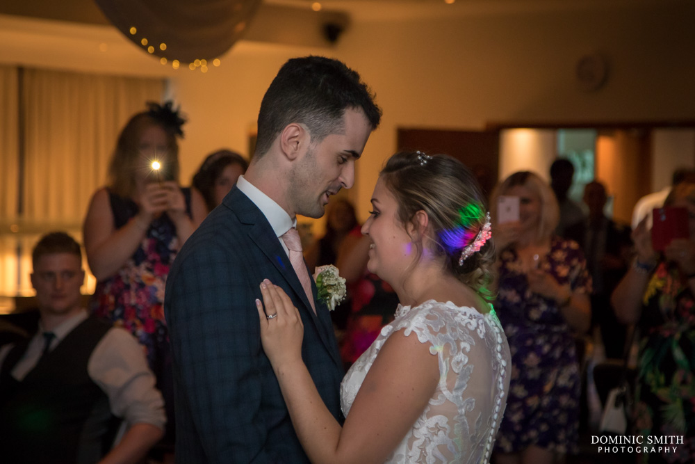 First dance at the Arora Hotel Gatwick 1