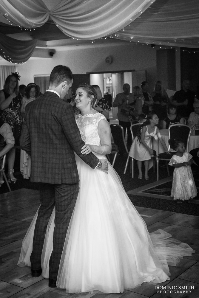 First dance at the Arora Hotel Gatwick 2