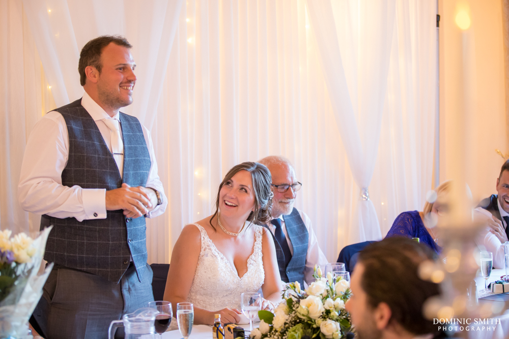 Grooms speech at Highley Manor